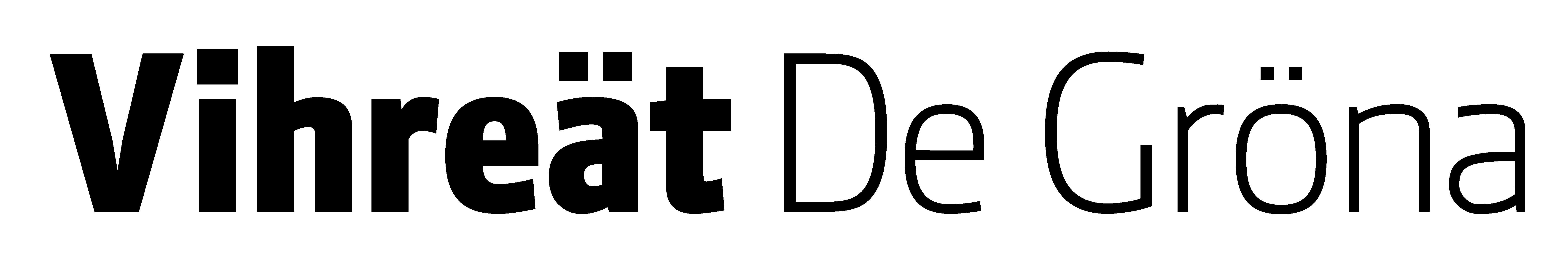 Vihreiden logo